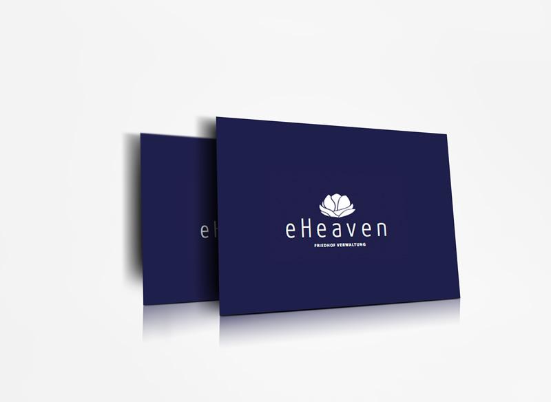 gestaltung logo e-heaven