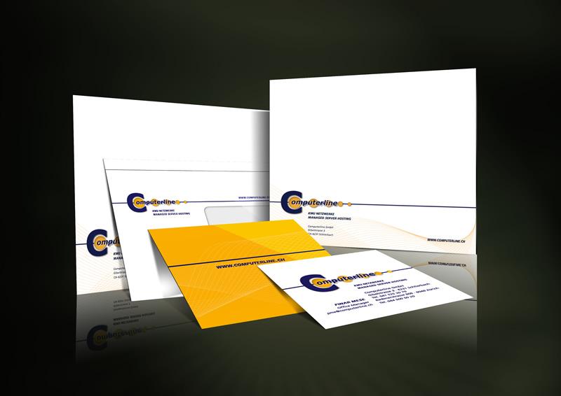 Gestaltung Drucksachen Computerline