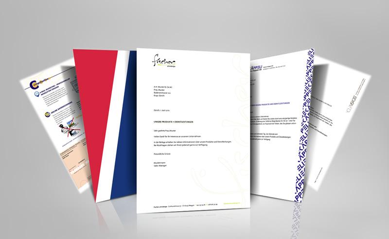 Gestaltung Briefpapier